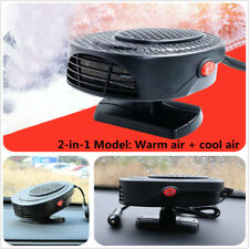 Acrylonitrile Butadiene Styrene 150W Car Auto Heater Hot Cool Fan Winter Safety
