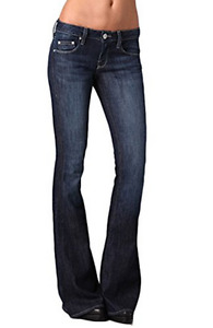 *NWT*William Rast Women's Ryley Flare Jeans In Hillhurst Size 26  MSRP:$185