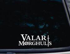 """Valar Morghulis Game of Thrones """"all men must die"""" GOT die cut decal/sticker"""
