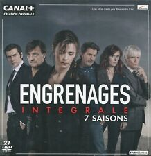 Engrenages : Intégrale - 7 Saisons (27 DVD)