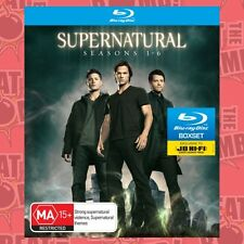 Supernatural: Seasons 1 - 6 (Boxset)  - BLU-RAY - NEW Region B