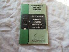 John Deere 12-A combine operator's manual