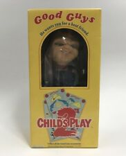 Child's Play 2 Chucky Doll Good Guys DREAM RUSH BOBBIN HEAD BANK Toy Japan