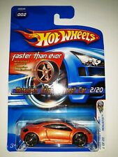 Hot Wheels Mitsubishi Eclipse Concept Car. Faster Than Ever Series. 2005 (P-3)