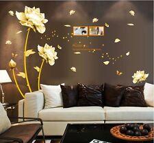 new DIY Art Wall Decal Decor Room Sticker Removable Paper Mural Flower Wallpaper