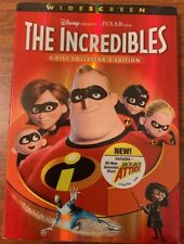 Disney Pixar The Incredibles 2 DiscCollector'd Edition-Used Free Shipping