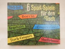 ESF-07095Älteres Schowanek 6-Sport-Spiele Spiel mit Gebrauchsspuren