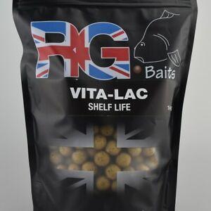 RG Baits, Vita-lac 5kg Boilies, 15mm, carp fishing, bait