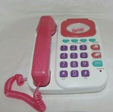 Barbie Super Talking Phone Answering Machine - Pink, Life Size, Works Perfectly