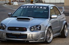 "40"" SUBIEFLOW banner subaru WRX STI BRZ turbo sticker decal subie flow vinyl"