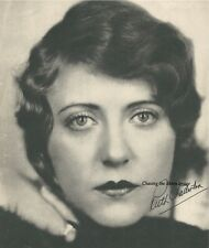 Ruth Chatteron Original Litho Photo Magazine Cover Inscribed Beautiful Flapper