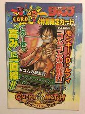 One Piece OnePy Berry Match PROMO PJ-C003 -