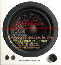CD - 50 Short Stories Audio Books Vol 6 - Sight Impaired, Blind  - Resell