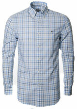 Lacoste Men's Cotton Collared Casual Shirts & Tops