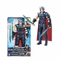 NEW! Marvel Avengers Thor Ragnarok: Electronic Thor 12-Inch Action Figure