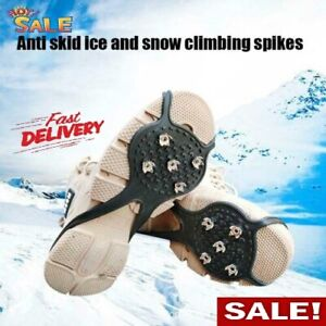 Universal Non-Slip Gripper Spikes Over Shoe Durable Cleatswith Good ElasticityUS