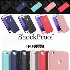 Silicone Case For Huawei P8 P9 P10 P20 Lite/Plus Matte TPU Soft Gel Phone Cover