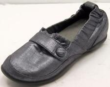 Dansko Carol Pewter Shimmer Suede Slip On Shoes women's 39 /8-5-9