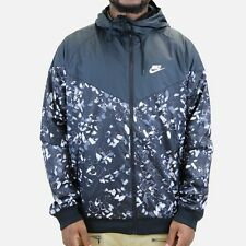 Nike Men's Sportswear Windrunner AOP Hooded Jacket 823371-010 Size Large NWT