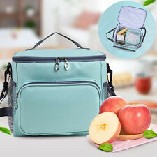 AU Large Insulated Cooler Thermal Lunch Bag Tote Bags Outdoor Picnic Container
