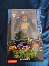 NECA 7? Michelangelo 1990 Movie Ninja Turtles TMNT Michaelangelo NIB