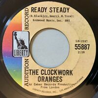 The Clockwork Oranges - Ready Steady / After Tonight 45 Promo Surf Rock VG mp3