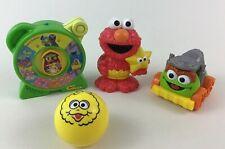 Sesame Street Musical See n Say Junior Elmo Squirt Oscar Car Ball 3pc Lot B8