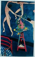 Vintage Henry Matisse Female Figure Woman La Danse Dance Art Poster