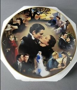 Gone With The Wind Scarlett Bradford American Classic Story Of Courage Plate