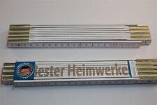 Zollstock mit  SPRUCH  BESTER HEIMWERKER  Lasergravur 2 Meter Handwerkerqualität
