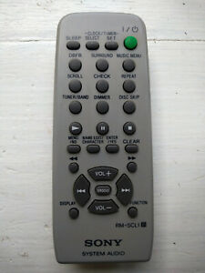 Sony RM-SC1 Remote Control for Sony CHC-CL5MD Stereo Hi-Fi System