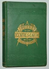 A Journey To The Centre Of The Earth, by Jules Verne, 1874 - Rare Antique  Book