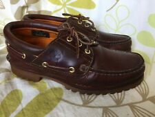 TIMBERLAND LADIES BROWN DECK BOAT SHOES SIZE 6 UK 39 EUR