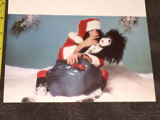 KISS Paul Stanley Christmas Card from 1977 - Gene Simmons Ace Frehley