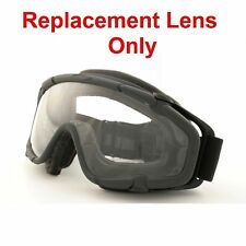 Oakley SI Ballistic Goggle Clear Replacement Lens For Goggles - Part #11-131 NEW