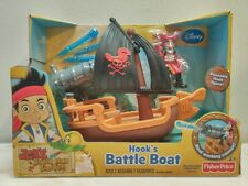 Fisher Price Disney Jake pirates hooks battle boat play-set  ages 3+ New