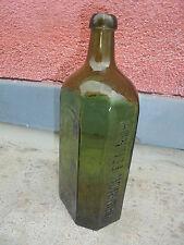 27729 Glasflasche Heinrich Feilner Hof i. B vor 1900 25cm vint Bottle mouthblown