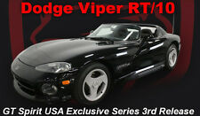 1992-1995 DODGE VIPER RT/10 BLACK USA EXCLUSIVE 1/18 GT SPIRIT FOR ACME US003
