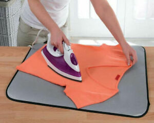 Table Top Ironing Pad Travel Iron Blanket Board Perfect for Holiday Caravan Trip