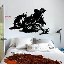 Wall Decal Sticker Vinyl Tribal Dirt Bike Moto Motorcycle Race Rally Gp M822
