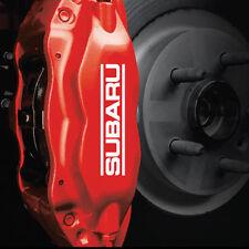 Subaru Brake Caliper HIGH TEMP. Vinyl Decal Stickers (ANY COLOR) SET OF 6