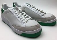 Brand New OG Men's NWT Size 14 ADIDAS ROD LAVER White / Green Tennis Shoes
