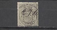 1179-SELLO FISCAL AÑO 1875 5 PESETAS 25,00€ IMPUESTO