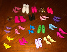 Huge Lot Of Vintage Barbie & Ken Doll Shoes 20 Pair!