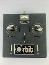 Rare Vintage ORBIT RC Model Airplane Radio Control Transmitter UNTESTED ~ AS-IS