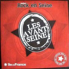 ROCK EN SEINE - LES AVANT SEINE - CD CARDSLEEVE 6 TITRES 2005 TRES RARE