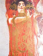 Gustav Klimt Hygieia Poster Kunstdruck Bild 80x60cm