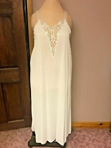 Alluring Long gown with elegant embroidery lace yoke with side slit