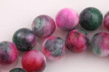 15/20/25pcs Persian Jade Stone Round Spacer Beads Gemstone Jewelry DIY 6/8/10mm