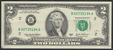 UNITED STATES OF AMERICA BANKNOTE - 2 DOLLARS - SERIE B - P461 - 2003 XF 🇺🇸